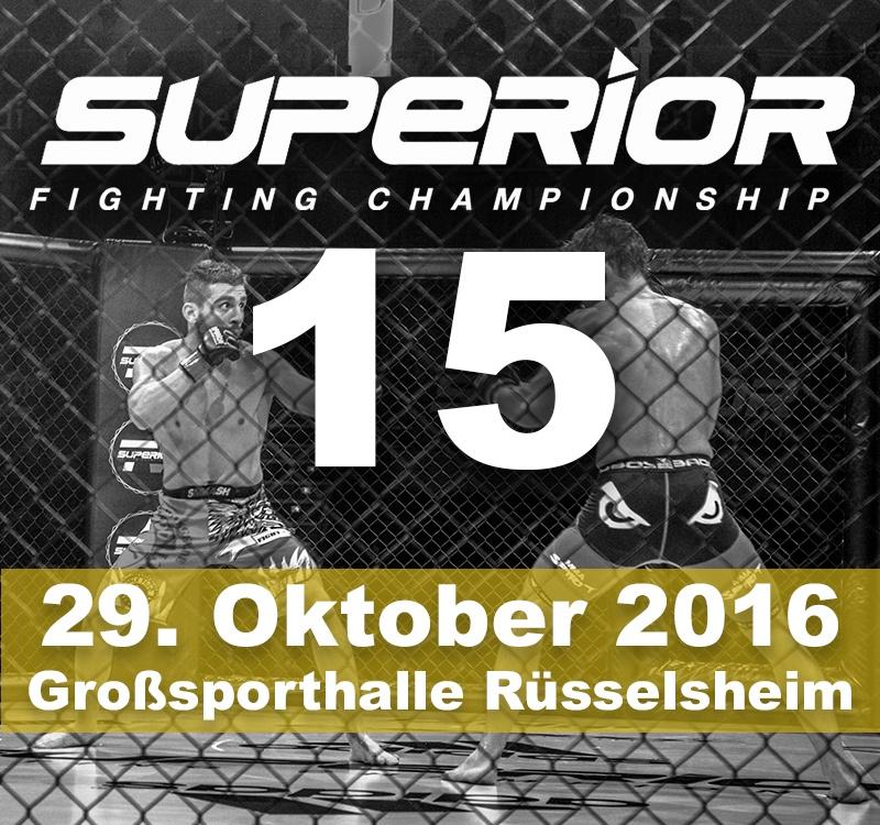 MMA Event Ruesselsheim